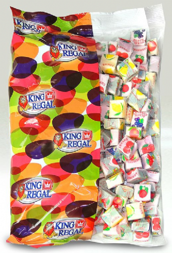 KR17 KING REGAL FRUIT CARAMELS 1KG